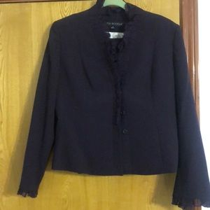 Nipon Boutique vintage purple 2pc suit skirt NWT